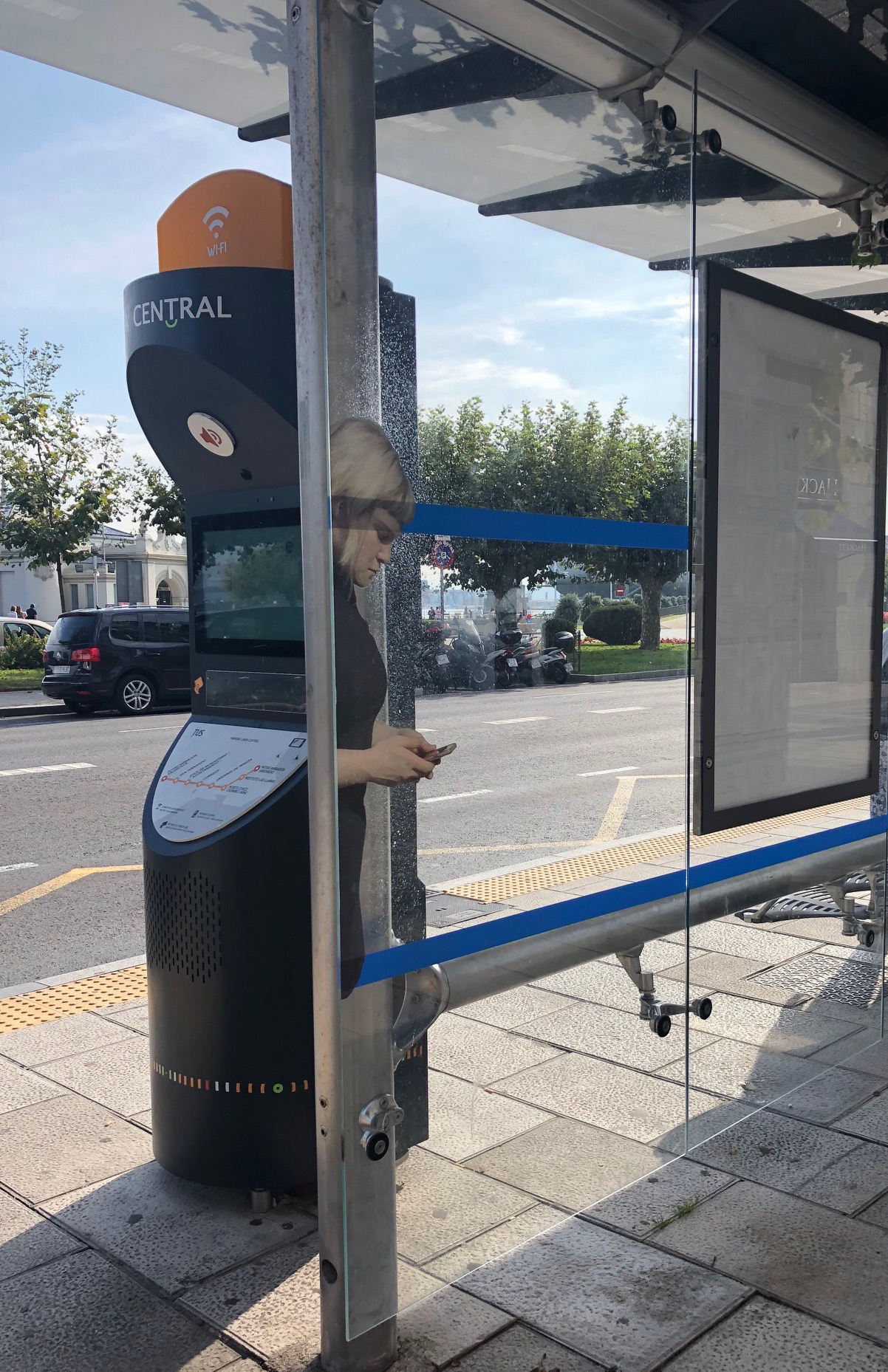 Avert, installation view Art in the Open, downtown Charlottetown PEI, 2017. Image credit Heather Leier
